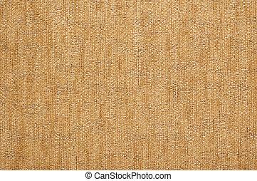 texture, de, biege, textile, fond