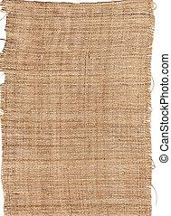 texture fiber from natural burlap hessian sacking