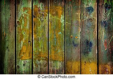 texture, fond, ou, bois, vieux
