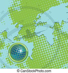 texture globe