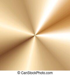 texture gold metal background vector