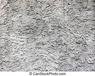 Texture gray plastered wall