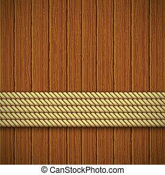texture., illustratie, houten, vector