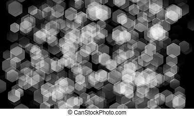 Texture large accumulation of transparent particles in the...