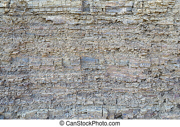 texture layers metamorphic rocks closeup