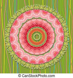 texture mandala design