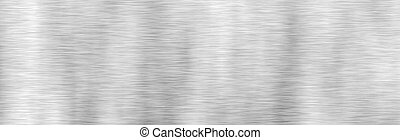 texture., metal, aço, escovado