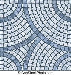 texture., mosaïque, marble-stone