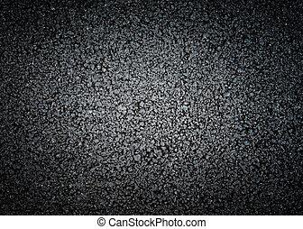 texture, noir, asphalte
