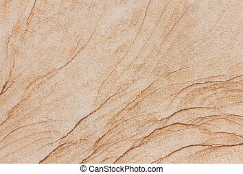 Texture of a beige brown stone slab
