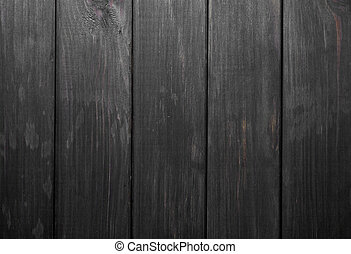 texture of a black wooden background