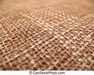 texture of a burlap
