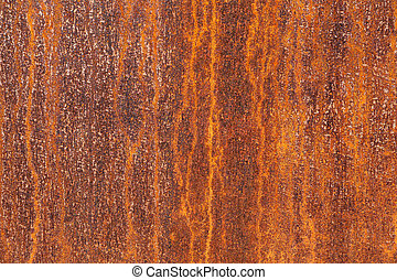 Texture of a corroded metal plate