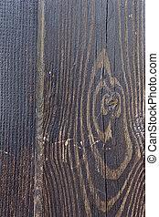 dark brown wooden surface