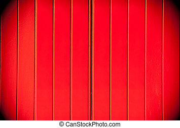 Texture of a red wooden dark border