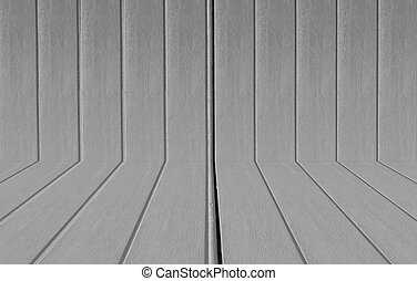Texture of a wood from tree, Black and white tone