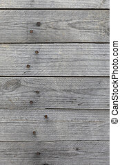 Texture of a wooden board on the street