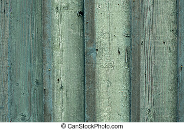 Texture of a wooden wall, an old vertical planking board.