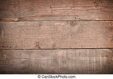 Texture of an old used wooden table with space for text or image