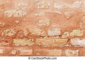 Texture Of Ancient Brick Wall In Close Up - Texture of a ...