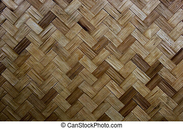 Texture of Bamboo Handicraft