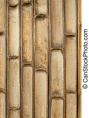 Texture of bamboo wall