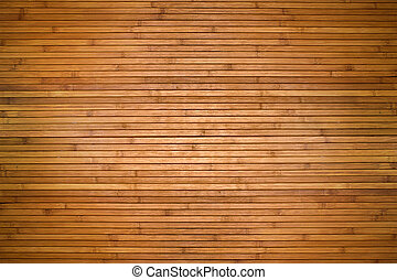 Texture of beige bamboo wooden planks