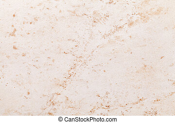 Texture of beige old marble material with cracked pattern, macro background.