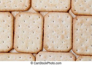 Texture of biscuits background.
