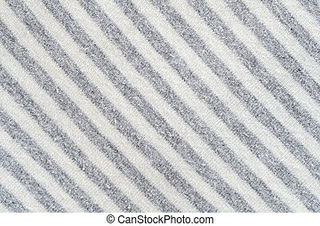 Texture of black and white fabric pattern background