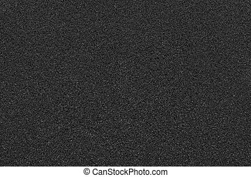 Texture of black grain pattern, abstract background