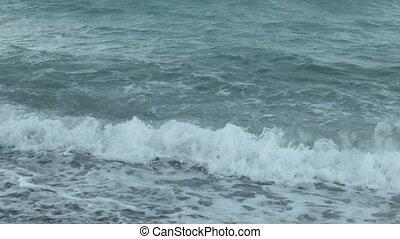 Texture of Black sea water