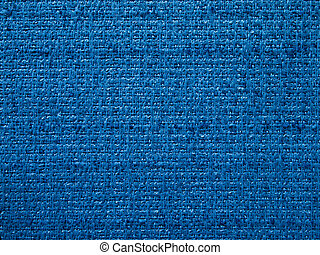 Texture of Blue fabric for interior design