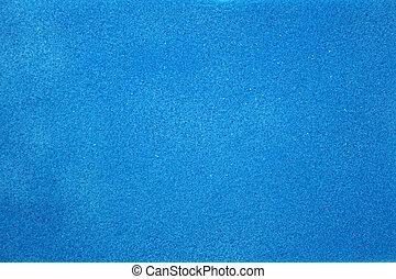 texture of blue foam rubber