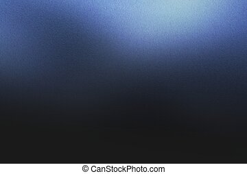 Texture of blue metal in the dark background