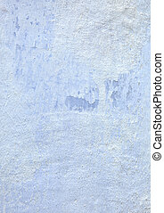 Texture of blue stucco wall