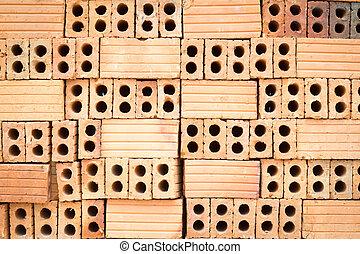 Texture of brick wall