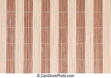 Texture of brown basketry background ,closeup