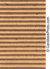 Texture of brown corrugate cardboard as background