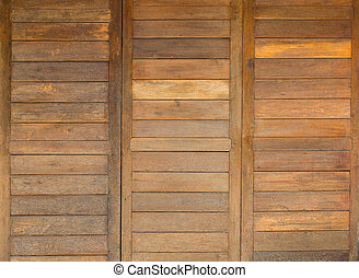 Texture of brown wood pattern background