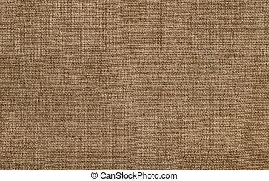 texture of coarse burlap