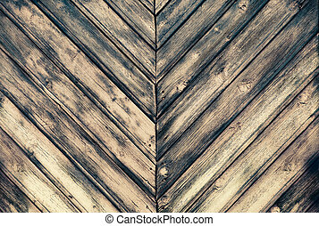 Texture of burned wood planks