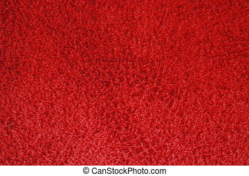 texture of carpet coverage of red color with a shallow nap