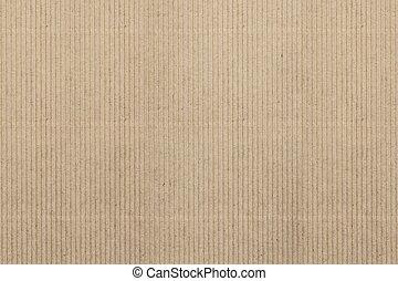 Texture of carton paper