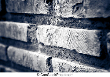 brick with dirty wall