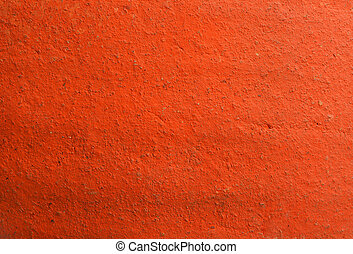 Texture of cement orange wall
