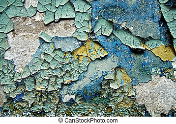 texture of color grunge stucco wall with cracks