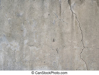 Texture of cracked grunge concrete wall