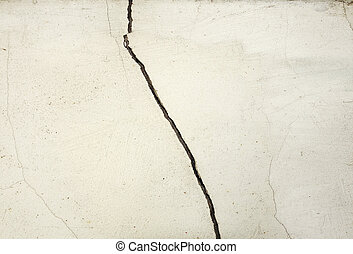 Texture of cracked wall