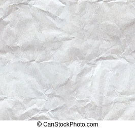 Texture of crumpled paper sheet seamless